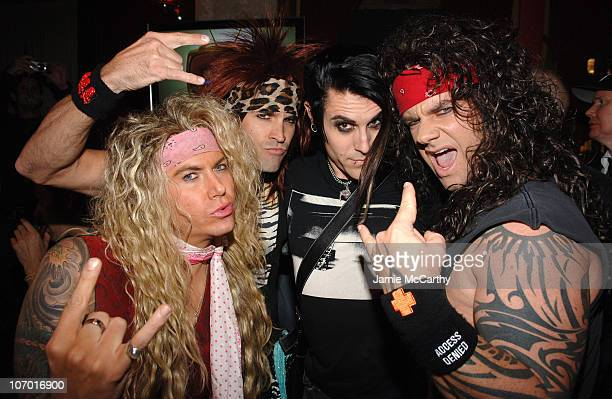 Davey Havok of AFI with Metal Skool
