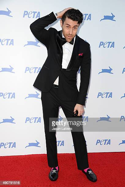 Davey Havok of the band AFI attends PETA's 35th anniversary party at Hollywood Palladium on September 30 2015 in Los Angeles California