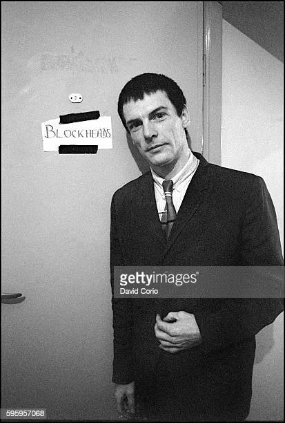 Davey Payne backstage at Colston Hall Bristol 1979
