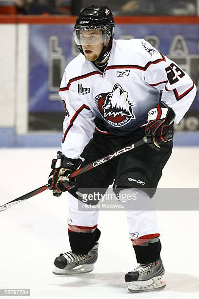 Davey Shea of the Rouyn-Noranda Huskies skates during the game against the Drummondville Voltigeurs at the Centre Marcel Dionne on January 04, 2008...