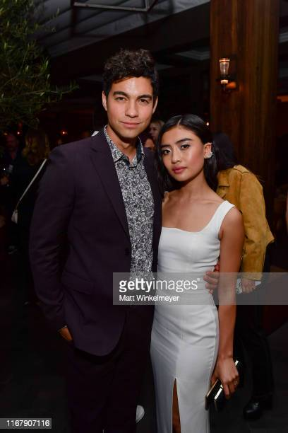 Davi Santos and Brianne Tju attend the LA premiere of Entertainment Studios' 47 Meters Down Uncaged on August 13 2019 in Westwood California