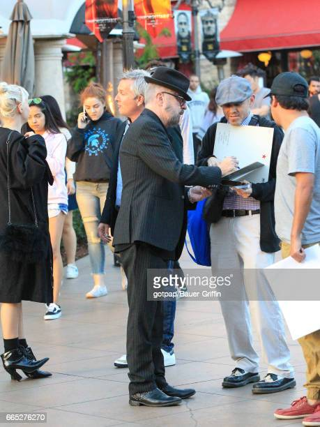 David A Stewart is seen on April 05 2017 in Los Angeles California
