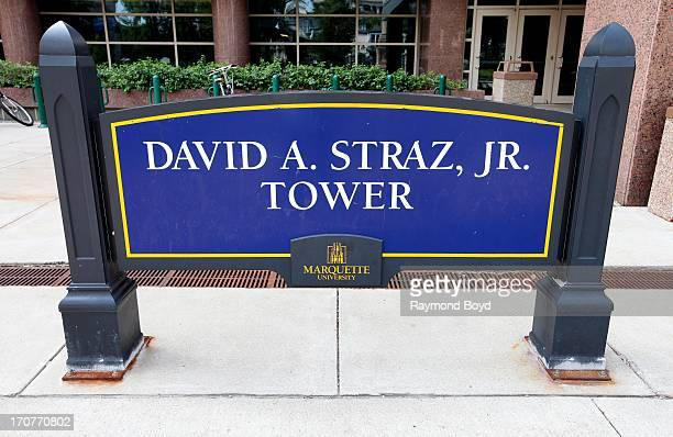 David A. Straz, Jr. Tower, at Marquette University, in Milwaukee, Wisconsin on JUNE 09, 2013.