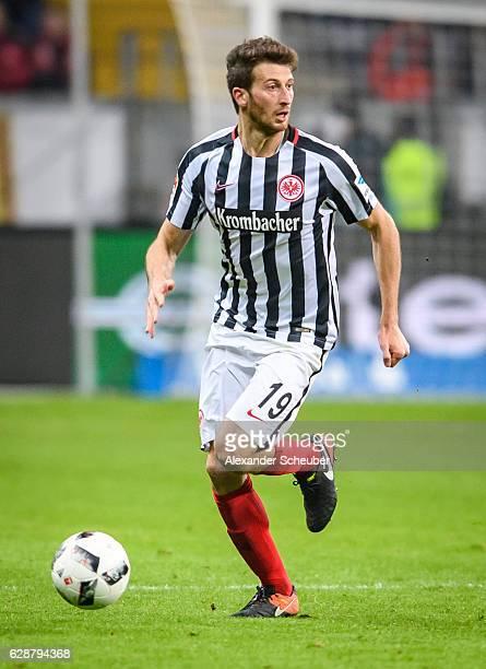 David Abraham of Frankfurt in action during the Bundesliga match between Eintracht Frankfurt and TSG 1899 Hoffenheim at CommerzbankArena on December...