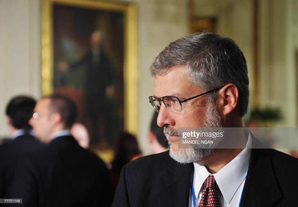 David Addington, Vice President Dick Cheney's Chief of Staff, waits for the start of the 2007 Presidential Medal of Freedom award ceremony 05 November 2007 in the East Room of the White House in Washington, DC. The award is the highest civilian honour given by the president in recognition of meritorious contribution to the US and to world peace. AFP PHOTO/Mandel NGAN