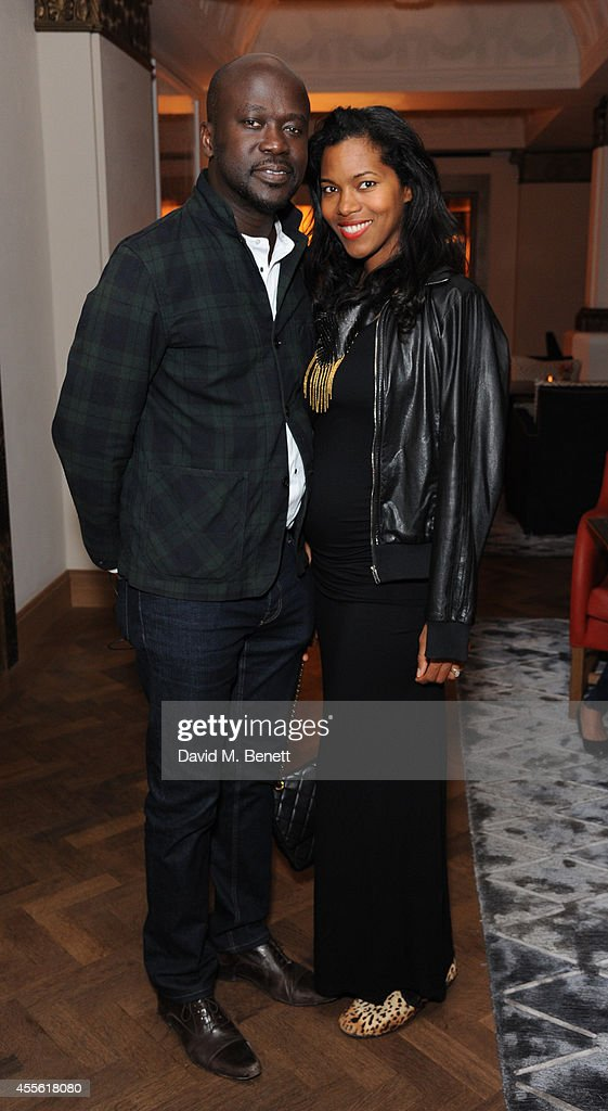 STANDSEVEN Party Hosted By David Adjaye and Ross Lovegrove At Cafe Royal : News Photo