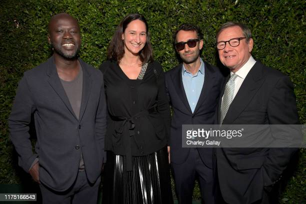 David Adjaye Bettina Korek Alex Israel and Michael Ovitz attend The J Paul Getty Medal Dinner 2019 at The Getty Center on September 16 2019 in Los...