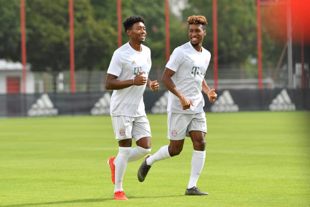 DEU: FC Bayern Muenchen Training Session