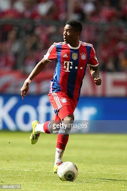 David ALABA FC Bayern München deutsche Fussball Meisterschaft des FC Bayern München 1 Bundesliga Fussball FC Bayern München VfB Stuttgart Saison 2013...