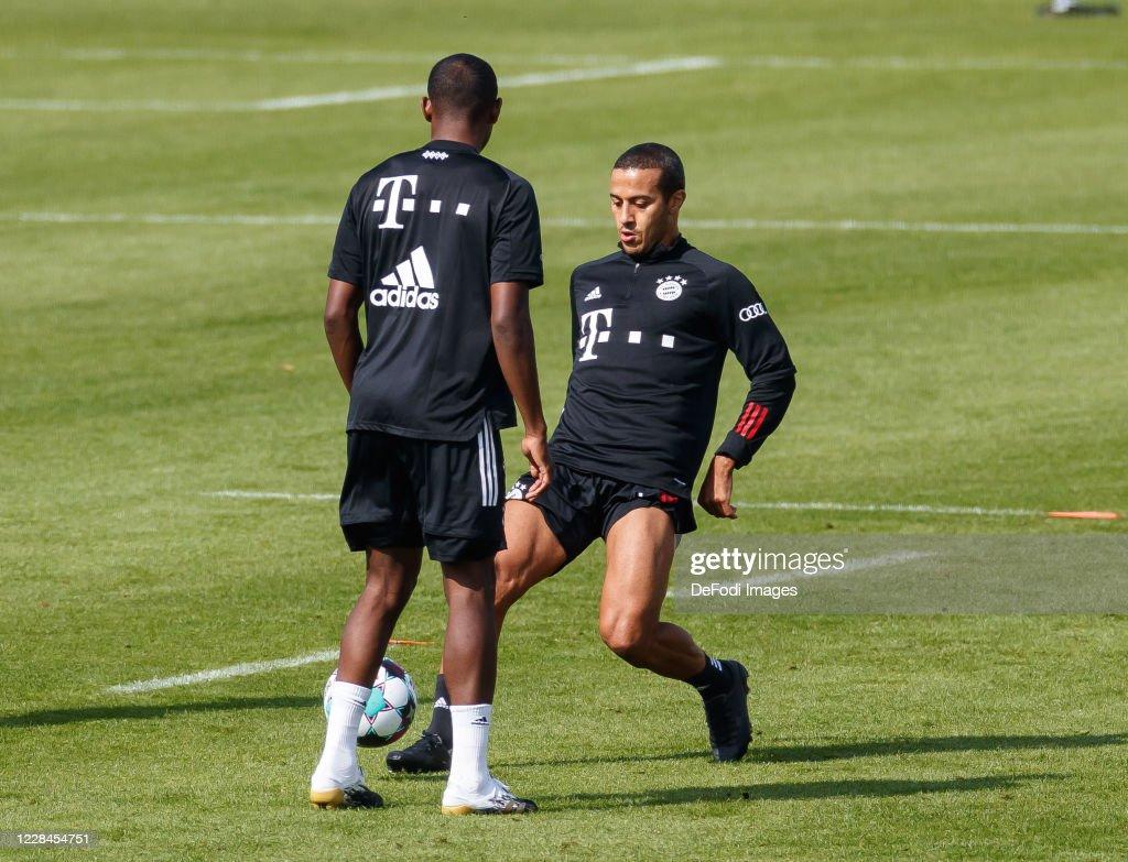 FC Bayern Muenchen Training Session : News Photo