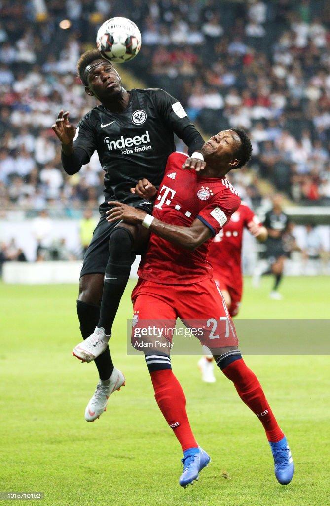 Eintracht Frankfurt v Bayern Muenchen - DFL Supercup 2018 : Foto jornalística