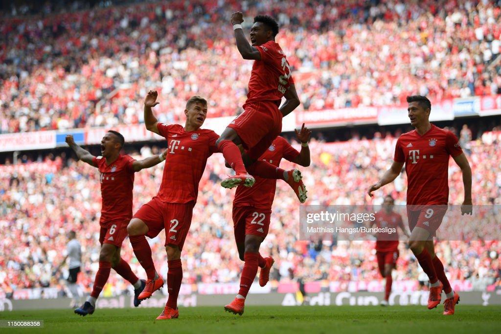 DEU: FC Bayern München v Eintracht Frankfurt - Bundesliga For DFL