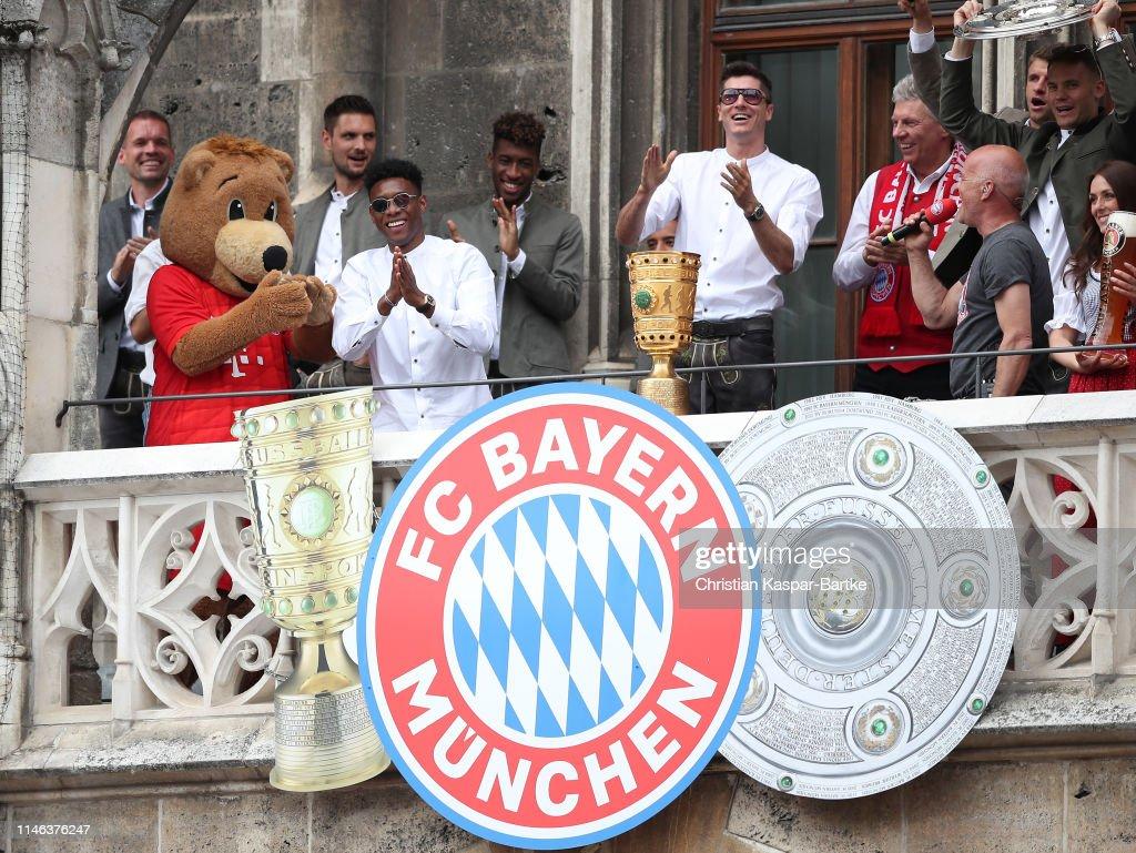 FC Bayern Muenchen Celebrate Winning The Bundesliga : News Photo