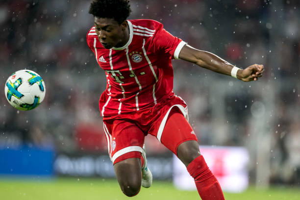 David Alaba has struggled to carry across his abilities from Bayern to Austria's national team. (Photo by Jan Hetfleisch/Bongarts/Getty Images)