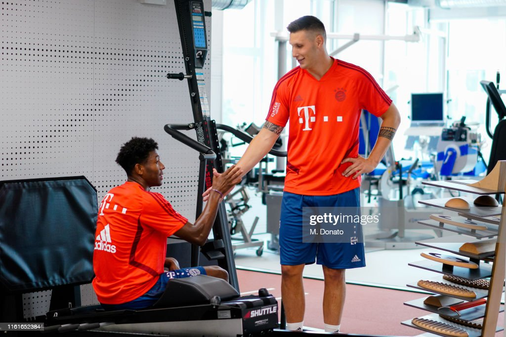 FC Bayern Muenchen Lactate Tests And Performance Diagnostics : News Photo