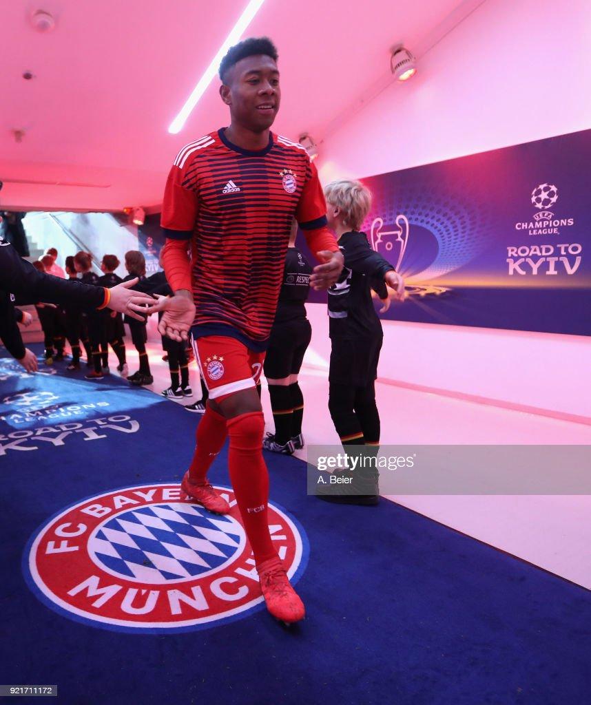 Bayern Muenchen v Besiktas - UEFA Champions League Round of 16: First Leg : Foto di attualità