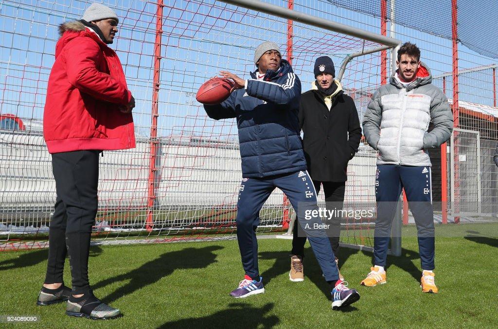 Deshaun Watson Visits FC Bayern Muenchen