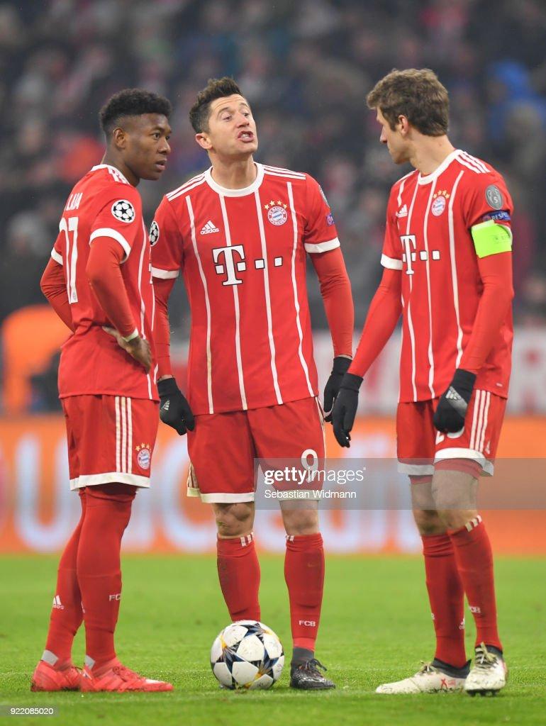 Bayern Muenchen v Besiktas - UEFA Champions League Round of 16: First Leg : News Photo