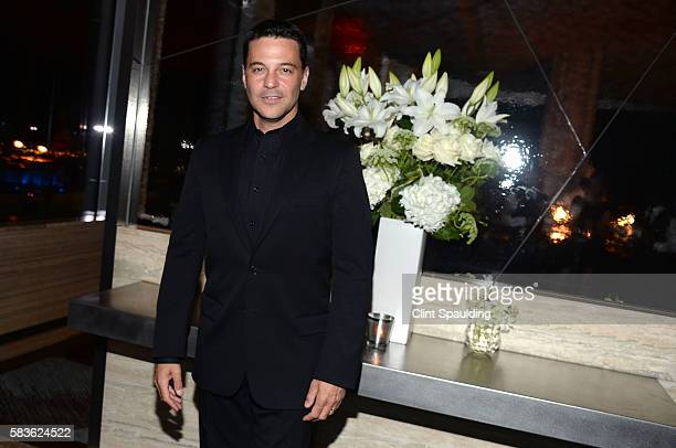 David Alan Basche attends the After Party for Sony Pictures Classics' Equity hosted by The Cinema Society with Bloomberg Thomas Pink at Sixty Five on...