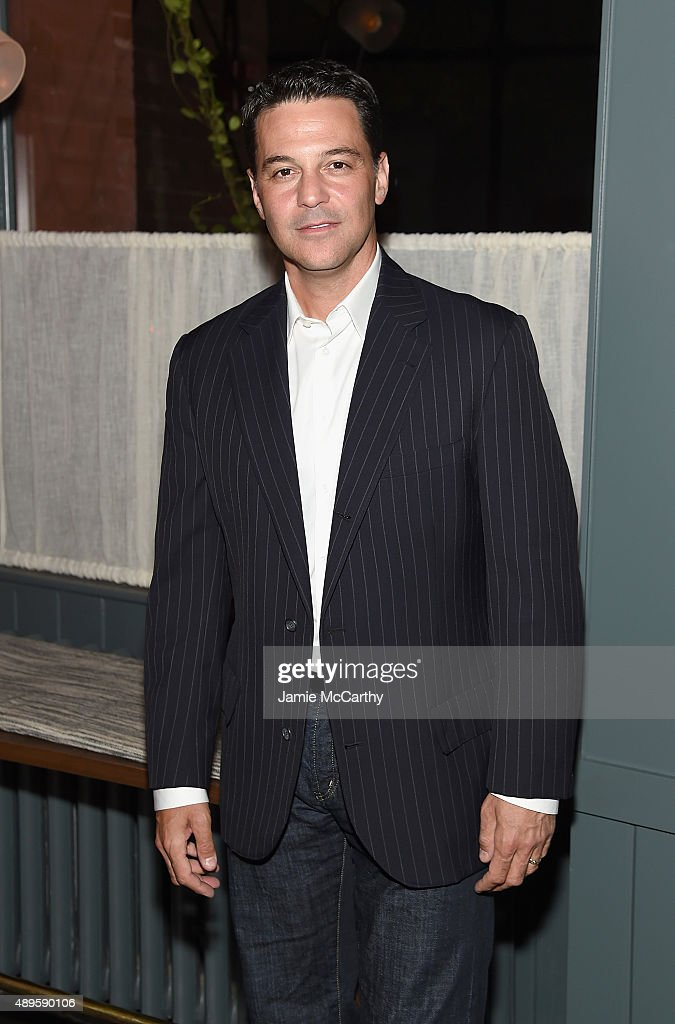 David Alan Basche attends the after party for the screening of Warner Bros. Pictures 'The Intern' hosted by The Cinema Society And Ruffino on September 22, 2015 in New York City.