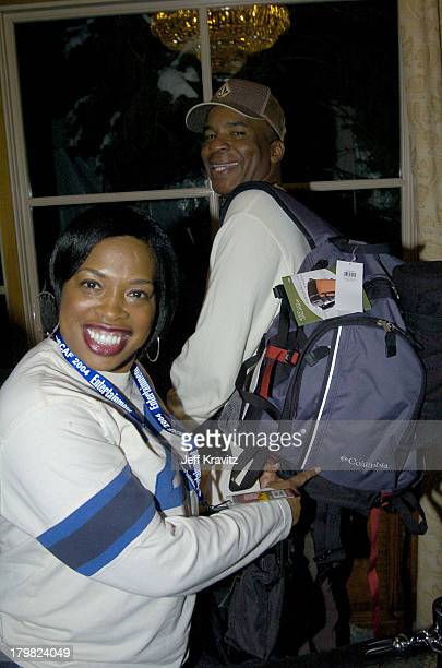 David Alan Grier and Adele Givens during The 10th Annual US Comedy Arts Festival MAXIM Magazine Takes Over Aspen at Whiskey Rocks at the St Regis in...