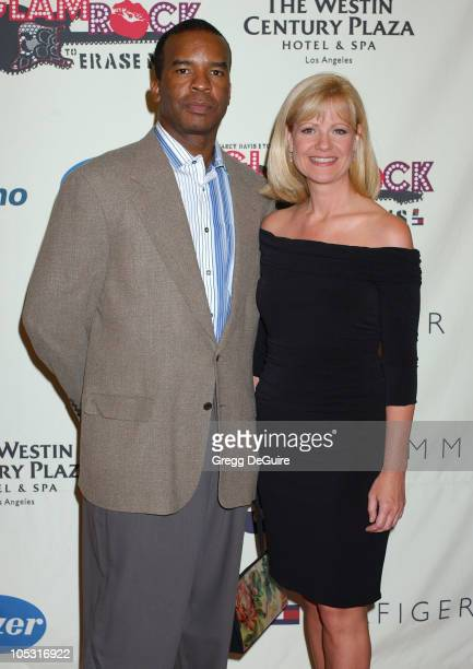 David Alan Grier and Bonnie Hunt during 11th Annual Race To Erase MS Gala Arrivals at The Westin Century Plaza Hotel in Los Angeles California United...