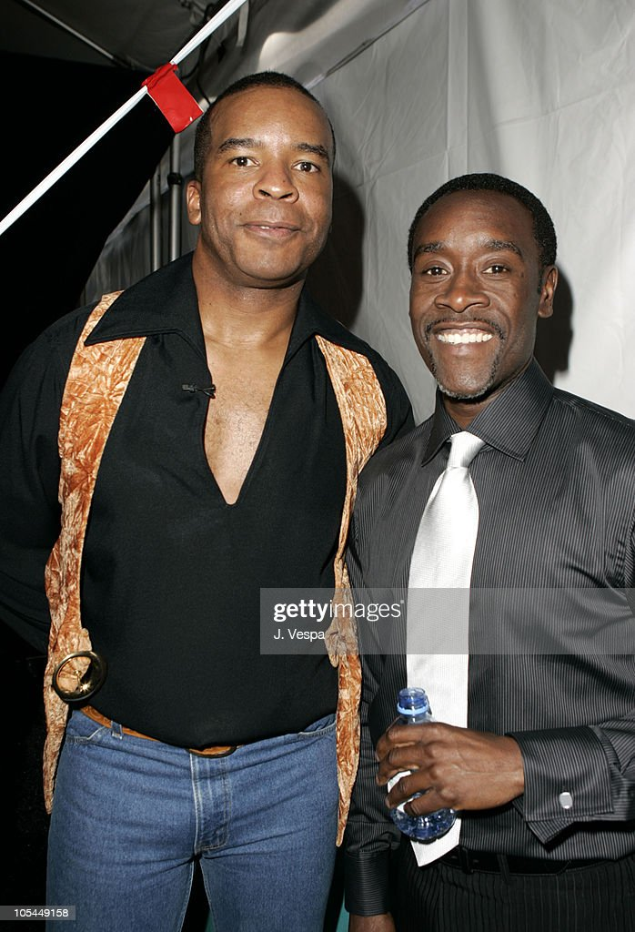 David Alan Grier and Don Cheadle during The 20th Annual IFP Independent Spirit Awards - Green Room in Santa Monica, California, United States.
