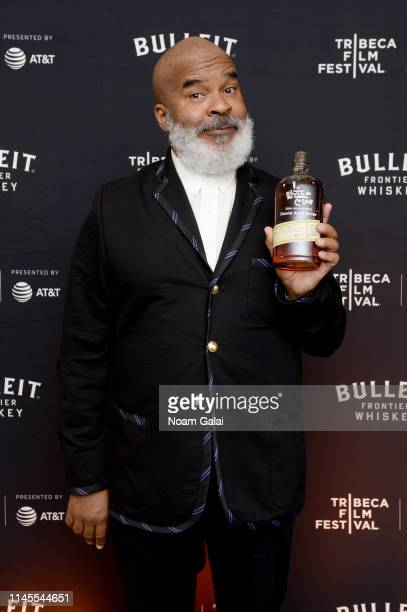 David Alan Grier at the 25th Anniversary of In Living Color After Party at the Bulleit 3D Printed Frontier Lounge at the Tribeca Film Festival on...
