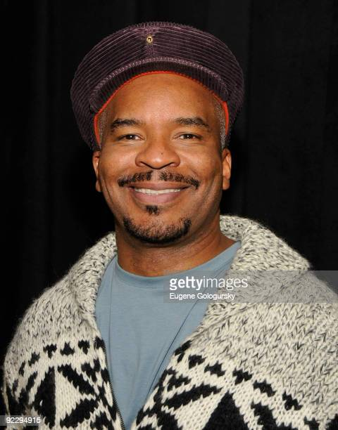 David Alan Grier attends the Race Broadway photo call at the Atlantic Theater Company on October 22 2009 in New York City