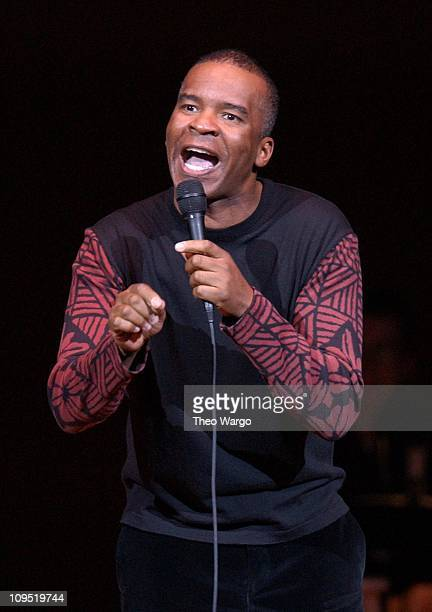 David Alan Grier during Carolines On Broadway Celebrates 20 Years of Comedy at Carnegie Hall Show at Carnegie Hall in New York City New York United...
