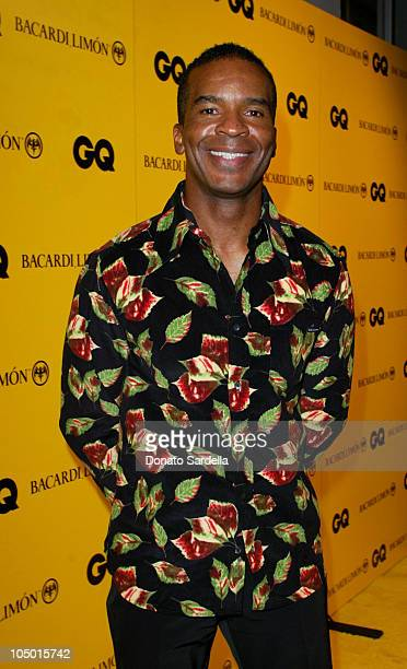 David Alan Grier during GQ Presents In the Mix with Bacardi Limon at The Ivar in Hollywood California United States