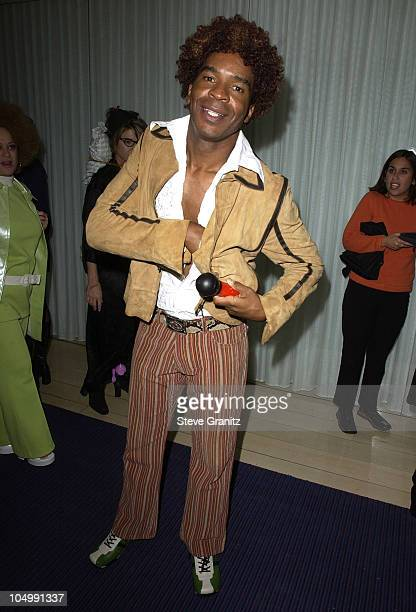 David Alan Grier during the Mondrian Hotel Halloween Party at The Mondrian Hotel in Los Angeles California United States