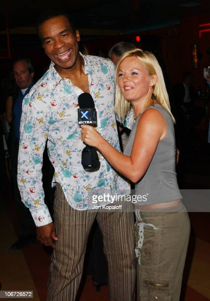 David Alan Grier & Geri Halliwell during Playstation 2 Hosts the Movieline Young Hollywood Awards After-Party in Los Angeles, California, United...
