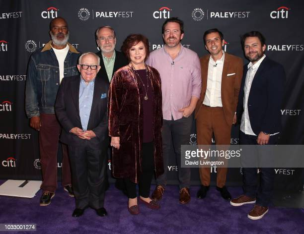 David Alan Grier Leslie Jordan Martin Mull Vicki Lawrence Patrick Walsh Paul Fruchbom and Charlie Day from 'The Cool Kids' attend The Paley Center...