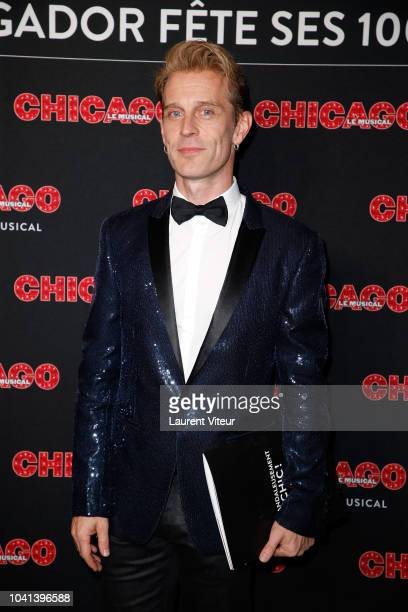 David Alexi attends 'Chicago' Paris Premiere at Theatre Mogador on September 26 2018 in Paris France