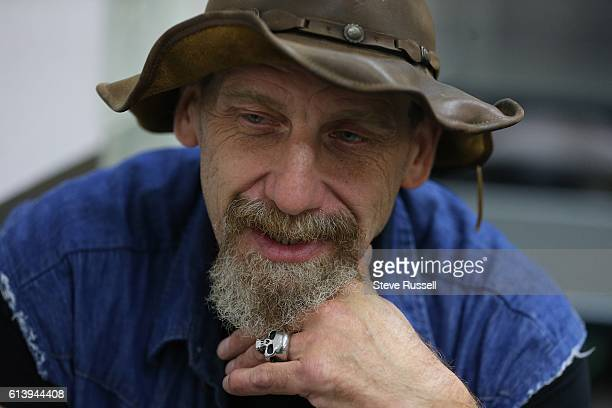 TORONTO ON OCTOBER 9 David Allan Deep at Good Shepherd Ministries which is among numerous shelters hosting Thanksgiving Day meals on Monday Weekend...