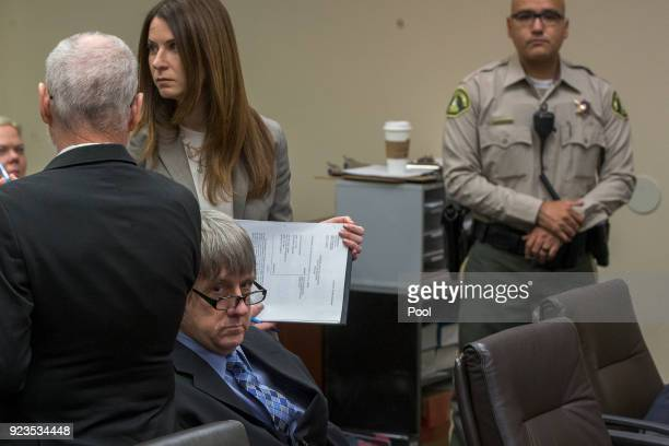 David Allen Turpin who along with Louise Anna Turpin is accused of abusing and holding 13 of their children captive appears in court on February 23...