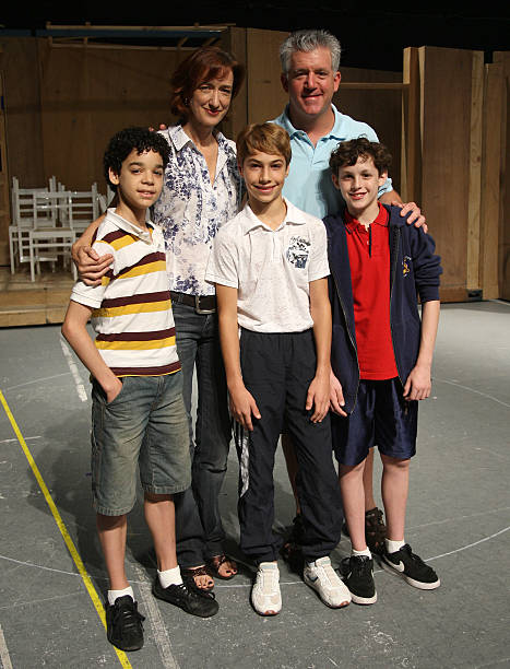 Billy Elliot The Musical Broadway Cast Photo Call Photos And