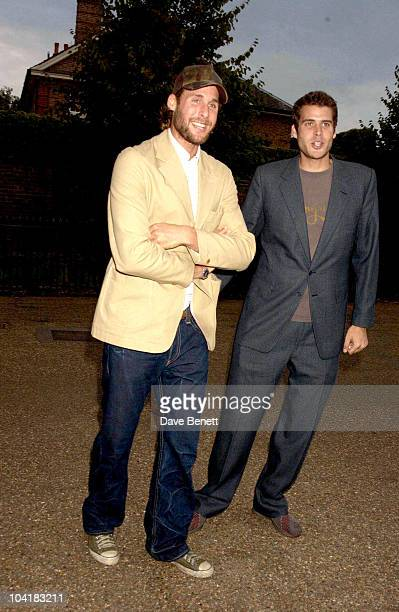 David And Anthony De Rothschild Lynn De Rothschild's Party For Hillary Clinton To Celebrate The Launch Of Her Book 'Living History' At The Orangery...