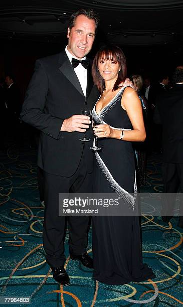 LONDON NOVEMBER 17 David and Debbie Seaman attend the blacktie ball in aid of Cancer Research UK at Hilton London Metropole November 17 2007 in...
