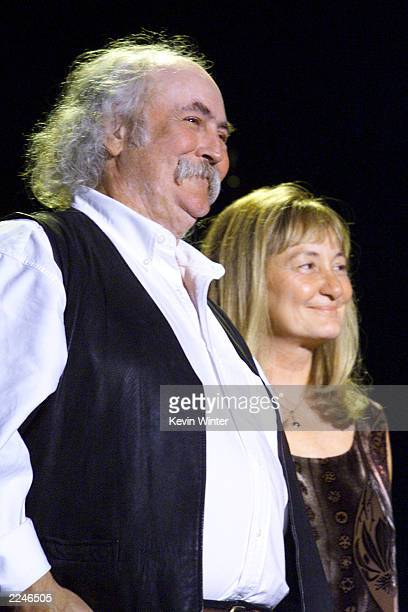 David and Jan Crosby at 'Friends of the Dream Foundation' a tribute to Jan and David Crosby presented by Nexus Products Company at the Santa Monica...