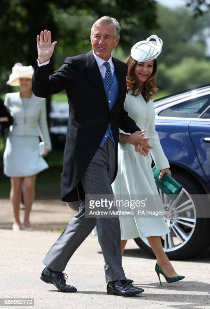 David and Jane Matthews arrive ahead of the wedding of the Duchess of Cambridge's sister Pippa Middleton to her millionaire groom James Matthews...