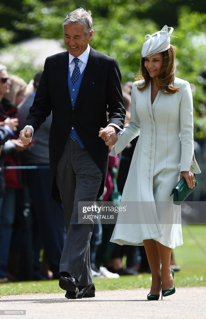 BRITAIN-ROYALS-PEOPLE-MIDDLETON-MARRIAGE : News Photo