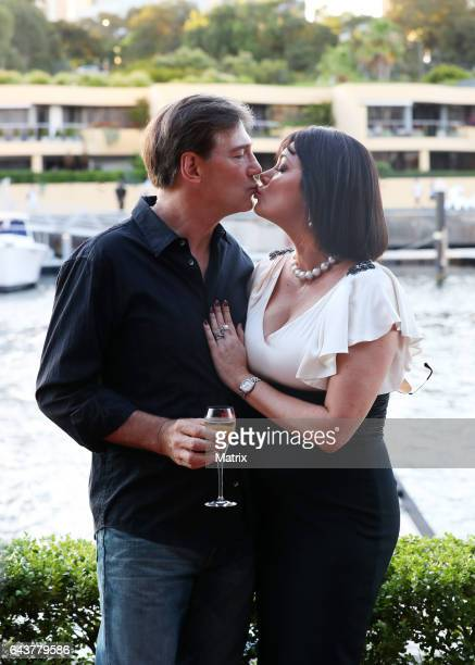 David and Lisa Oldfield at The Real Housewives of Sydney launch on February 21 2017 in Sydney Australia