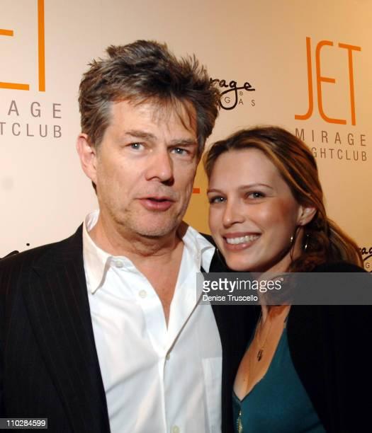 David and Sara Foster during Jet Nightclub at The Mirage Grand Opening Celebration - Red Carpet Arrivals at Jet Nightclub at The Mirage in Las Vegas,...