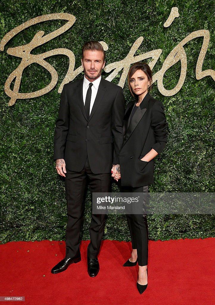 British Fashion Awards 2015 - Red Carpet Arrivals : News Photo