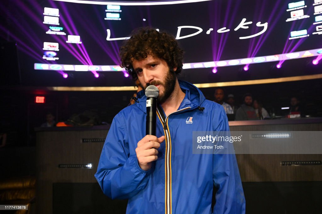 100 Thieves x Totino's Presents Lil Dicky : News Photo
