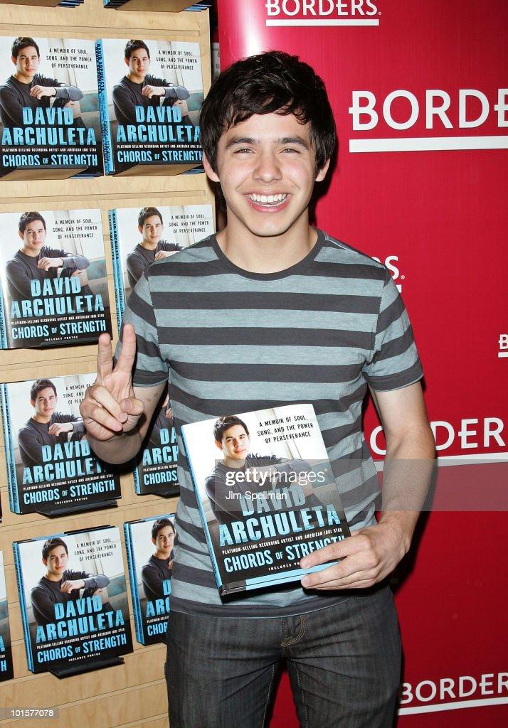 "David Archuleta Signs Copies Of ""Chords Of Strength"" - June 2, 2010"