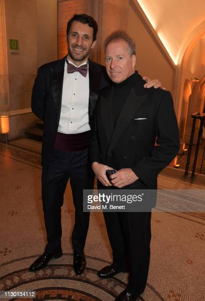 David ArmstrongJones 2nd Earl of Snowdon and guest attend The Portrait Gala 2019 hosted by Dr Nicholas Cullinan and Edward Enninful to raise funds...