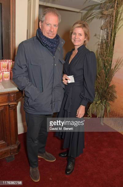 David ArmstrongJones 2nd Earl of Snowdon and Serena ArmstrongJones Countess of Snowdon attend the London Premiere of Apple's acclaimed documentary...